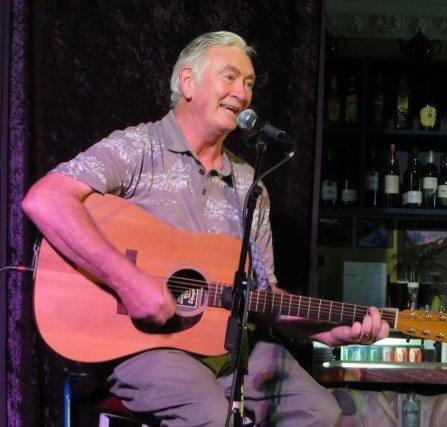 Kevin Meehan performing at Mainly Acoustic