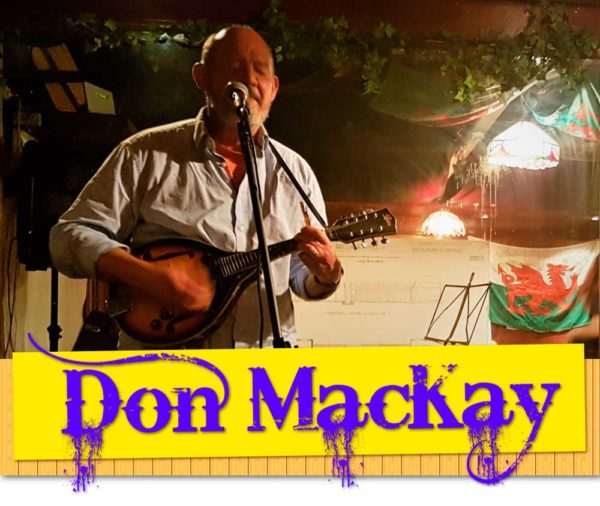 Singer Songwriter Don MacKay