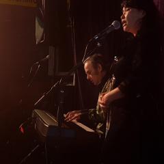Don Franks and Clarinda Kwee