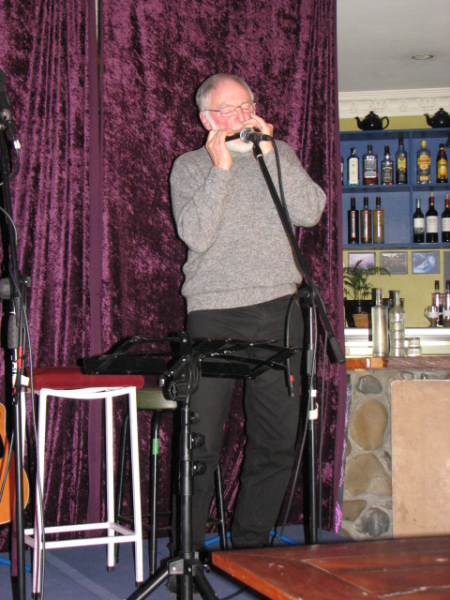 Bill Wallace on harmonica